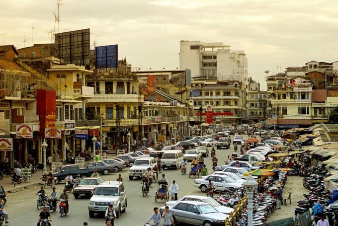 Сегодня Пномпень - современный и шумный город