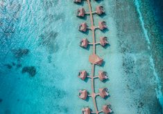 intercontinental-maldives-overwater-pool-villas-aerial-view