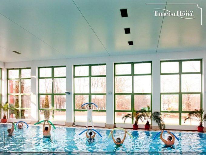 Водные процедуры в отеле Thermal Hotel в Харкане